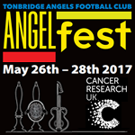 Angelfest 2017 - May 26th to 28th - Tonbridge's BIGGEST beer & music festival